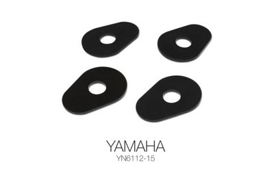 Barracuda knipperlicht adapterplaatjes Yamaha '15