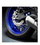 Yamaha reflecterende velgsticker zwart